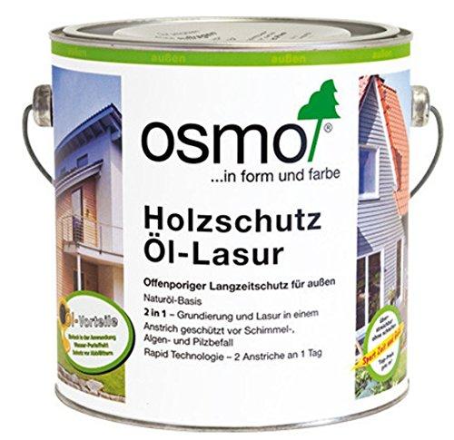 Osmo Holzschutz Öl-Lasur Eiche Hell (732) 2,5 Liter