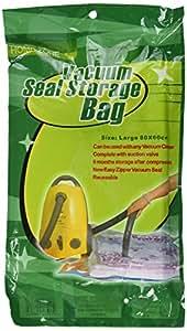 Pack de 10 sacs de rangement sous vide économiseur d'espace ( Taille 80 * 60 cm )