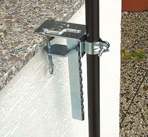 profiline 450650 balkonklammer f r sonnenschirm. Black Bedroom Furniture Sets. Home Design Ideas