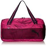 Puma Sac de sport de Sport Fundamentals II, Fuchsia Purple/Allover Lines, 27,4x 11,6x 27cm, 33L, 07375708...