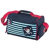 Travelite Youngster Reisetasche 14 L Blau Pirat Kinder Sporttasche Bordgepäck Bord Tasche Reise Handgepäck 81665-20