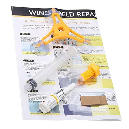 Appearancnes DIY Car Wind Shield Glass Repair Kit Vehicle Glass Windscreen Repair Glass Crack Restore Tools for Car Styling