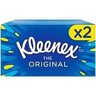 Kleenex Original Tissues - 2 Boxes (144 Tissues Total)