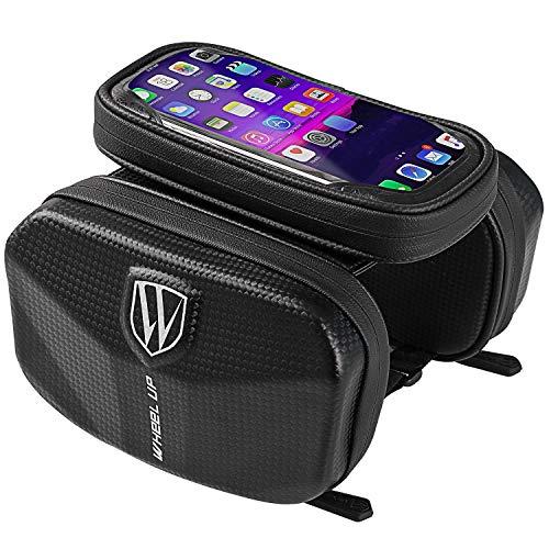 YHLU Touchscreen Mountain Road Bike Frontrahmen Tube Bag Radfahren Handyhalter für 6