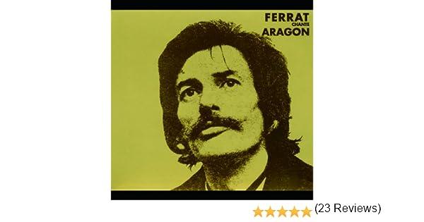 Ferrat chante aragon de jean ferrat sur amazon music amazon