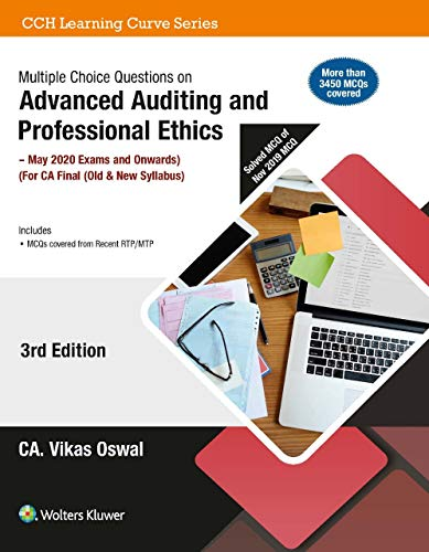 Multiple Choice Questions on Advanced Auditing and Professional Ethics (CA Final - Old & New Syllabus)