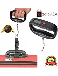 Bagonia Weighing Scale Digital Heavy Duty Portable, Hook Type, Capacity 50kg, Unit Conversion (Rendom Colour)
