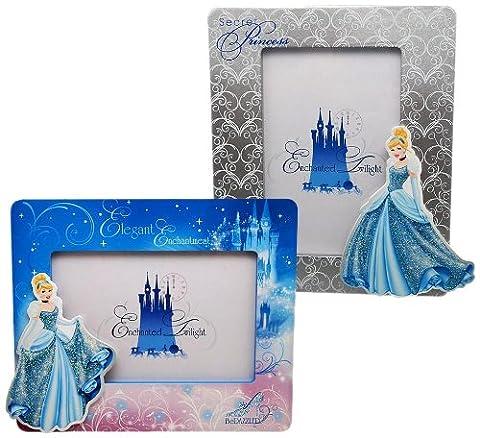 Joy Toy 90007Disney Princesse Cendrillon 2Portrait et paysage cadres photo en bois en papier cadeau individuel