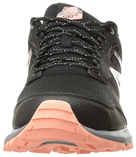 New Balance 590v2, Scarpe da Trail Running Donna Multicolore (Dark Grey)