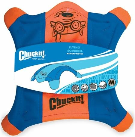 Chuckit! FLYING SQUIRREL Dog Fetch Toy Floating