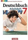 Deutschbuch Gymnasium - Nordrhein-Westfalen: 7. Schuljahr - Arbeitsheft mit Lösungen