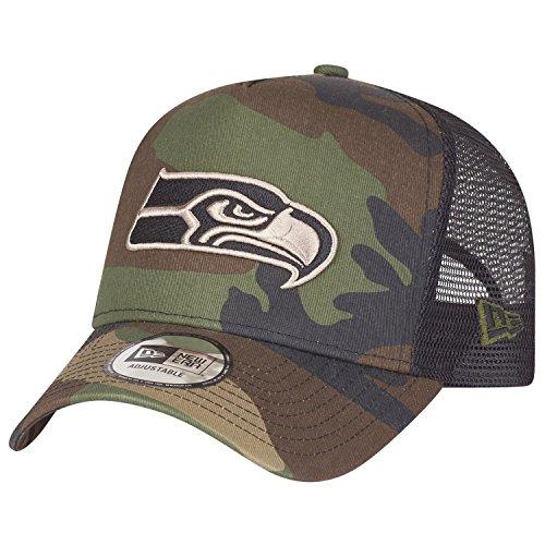 New Era Adjustable Trucker Cap - Seattle Seahawks Wood camo -
