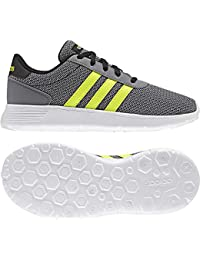 new style 33844 0092d ... Zapatos de cordones  adidas. adidas Lite Racer K, Zapatillas Unisex  para Niños, Negro (NegbasAmasol