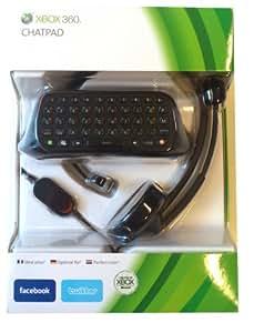 Clavier messenger ChatPad noir pour Xbox 360 (Clavier vendu seul , sans manette) + casque
