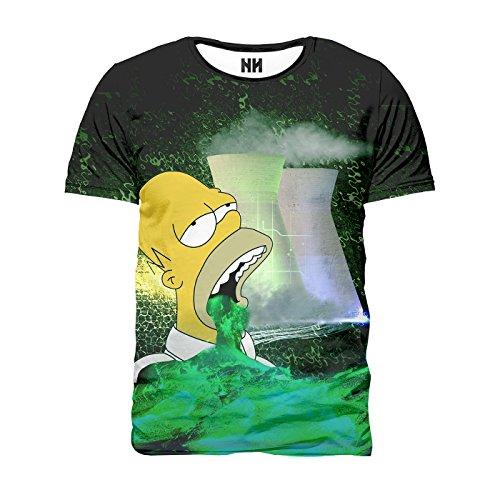 Noorhero T-Shirt Herren - Nuclerar Homer