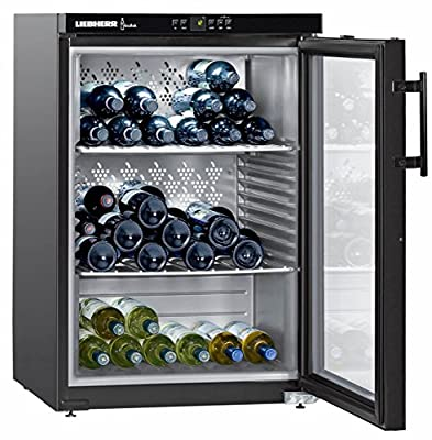 Liebherr WKb 1812 Vinothek - wine coolers (freestanding, Black, 5 - 20 °C, SN, ST, A, Buttons)
