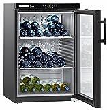 Liebherr WKb 1812 Vinothek refroidisseur à vin Autonome Noir 66 bouteille(s) Refroidisseur de vin compresseur A+ - Cave à vin (Autonome, Noir, 3 étagères, 1 portes(s), Noir, Noir)