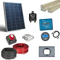 Kit Solare Pro Unità di Soccorso 80W 12V Fotovoltaico Pannello