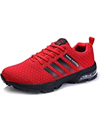 4f7c18021aa Senbore Chaussures de Sport basket Running Respirantes Athlétique Sneakers  Courtes Fitness Tennis Homme