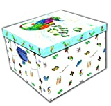 51ZsySz69nL. SL160  BEST BUY #1Robert Frederick Eric Carle Mr Seahorse Collapsible Storage Box, Plastic, Assorted price Reviews uk