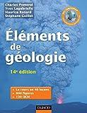 Image de Eléments de géologie - 14e édition - L'essentiel des Sciences de la