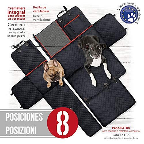 PET & CAR Rivestimento sedili auto cane, coprisedile protettivo impermeabile sedile posteriore e bagagliaio.