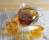 Teeset mit Teekanne und 2 doppelwandigen Teegläsern, eine ideale Geschenkidee für Teetrinker, nicht nur zu Weihnachten! Im Geschenkkarton.
