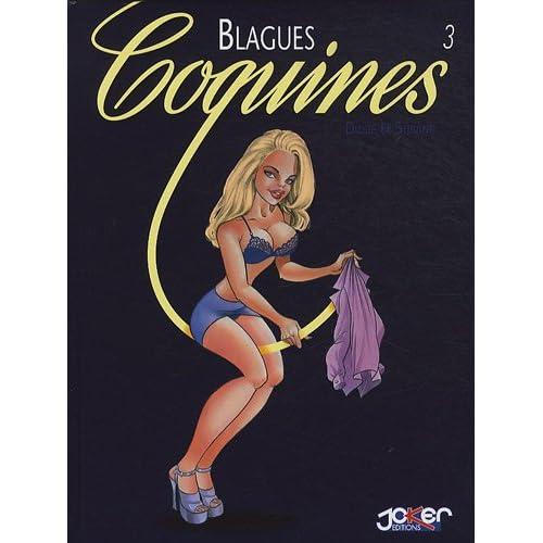 Recueil Blagues Coquines T03