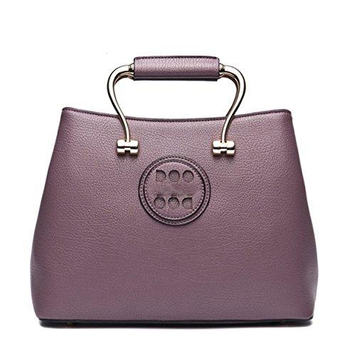 La Signora PU Borsa Selvaggia Purple