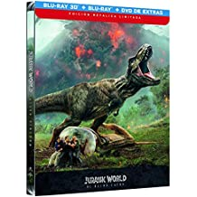 Jurassic World 2 El Reino Caido (BD 3D + BD + Dvd Extras) -