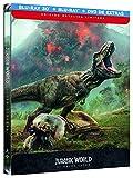 Jurassic World 2 El Reino Caido (BD 3D + BD + Dvd Extras) - Edición Metálica [Blu-ray]