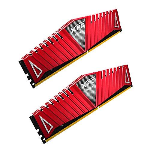 7 Unzen Spa (ADATA AX4U300038G16-DRZ Z1 DDR4 3000MHz (PC4-24000) CL16 16GB (8GBx2) Arbeitsspeicher rot)