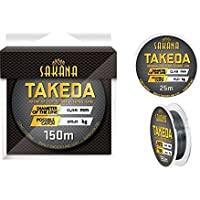 Sedal para caña de pescar de Sakana Takeda; 0,14-0,40 mm, bobina monohilo 150 m, 0,25mm