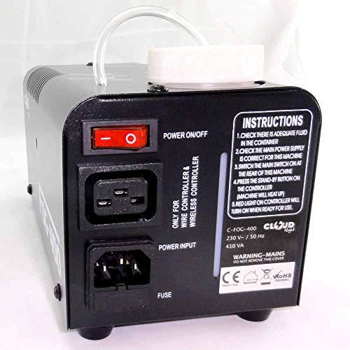800W Nebelmaschine mit Funk Fernbedienung FOG-900