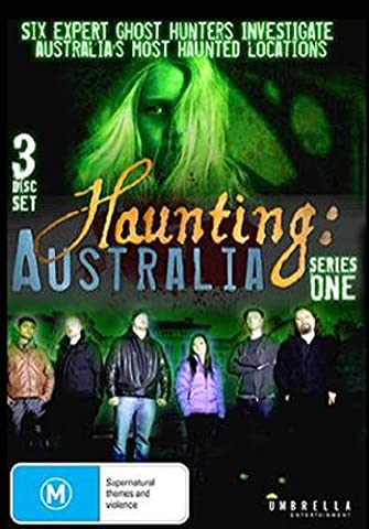 Haunting Australia Series 1 DVD (Region All Pal) (Complete First
