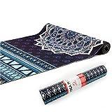 Chastep Tapis de sol pour pilates et fitness PVC Tapis de yoga,Pilates, Gymnastique 183×61×0.6 cm (OrionBlue)