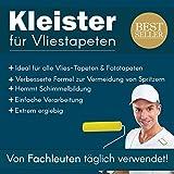 Tapetenkleister Profi Vlies Kleister Fototapete Tapete 1kg (ca. 100-120 m2) - Ideal für Fototapeten, optimales & praktisches Dosieren 20 x 50g Päckchen