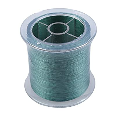 TOOGOO(R) 300M 20LB 0.18mm Spool Strong Braid Braided Fishing Line 4 Strands -Dark Green from TOOGOO(R)