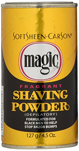 Razor Bump-creme (Magic Shave Duft-Rasierpulver 127 g)