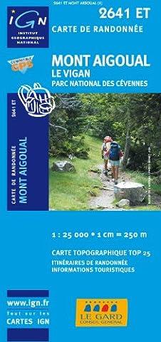 Mont Aigoual/Le Vigan/PNR des Cevennes GPS: IGN.2641ET