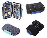 Speicherkarten Schutzbox wasserdichte Boxen in verschiedenen Ausführungen für SD, SDHC, MicroSD, MMC, SC und Compact Flash Karten Cards Case von ETU24 (Wasserdichte SD Kartenbox)