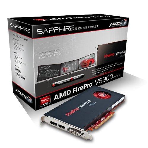 Sapphire FirePro V5900 Scheda grafica AMD V4900 600 MHz2 Go PCI-Express