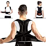 Back Posture Corrector, Shoulder Posture Correction - MS.DEAR Adjustable Full Back & Shoulder