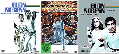 BUCK ROGERS Complete Collection TV-Serie + Kinofilm 15 DVD BOX Edition incl. Bonus