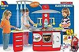 JT-Lizenzen Molto Spielküche Kinderküche Kitchen mit 42-TLG. Zubehör mit Licht