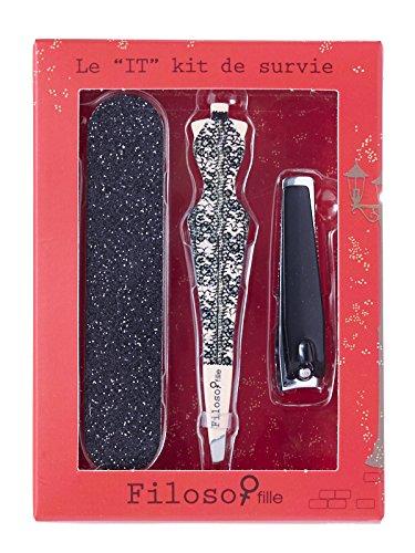 Filosofille Set Accessoires Beauté Sofie au Palace Kit de Survie 3 Pièces