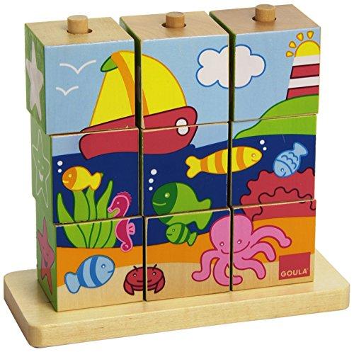 Goula 55198 - Puzzle Cubi Mare