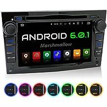 """XOMAX XM-2DA703 Opel / Corsa / Astra / Zafira etc. Android 6.0.1 Autoradio / Moniceiver / Naviceiver avec navigation GPS + Écran tactile de 7""""/18cm 16:9 HD (1024x600 px) + Support WIFI + Connexion Bluetooth avec fonction mains-libres + Port USB (jusqu'à 2TB) + Fente pour cartes Micro SD (jusqu'à 128 GB) + DVD/CD + Mémoire interne 16GB + Connexions subwoofer, caméra recul, commandes au volant + Dimensions Standard DIN double + Antenne GPS inclus"""