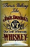 Jack Daniels nichts wie... geprägt Stahl Schild (hi2030pt) CPM