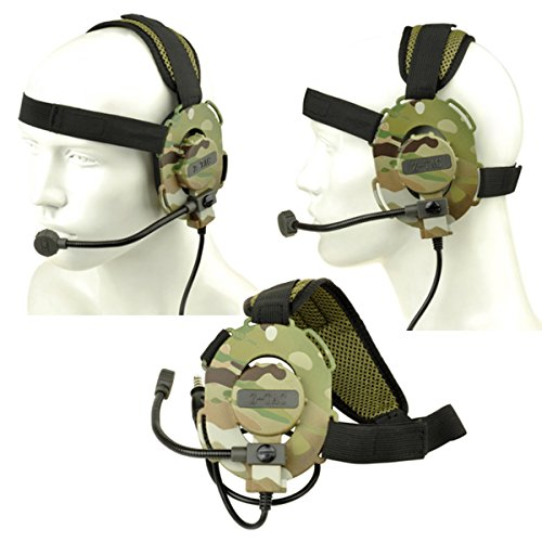 Z Tactical Bowman Style Headset Evo III Z029 Airsoft Comms (Comm Radio)